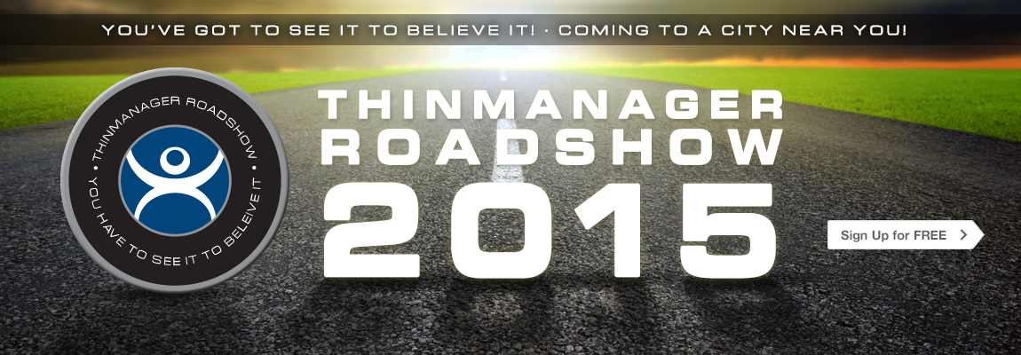 ThinManager Roadshow