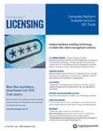 datasheet for licensing