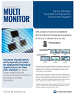 datasheet for multi-monitor