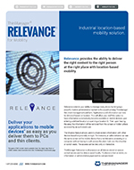 datasheet for relevance